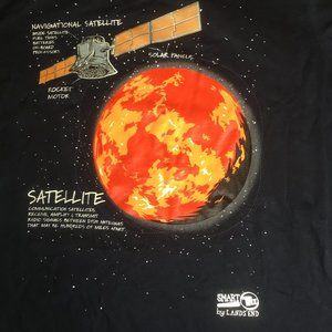 Lk New Navigational Satellite Engineering T-shirt